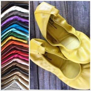 Storehouse Flats Mustard Yellow Flat Shoes 5
